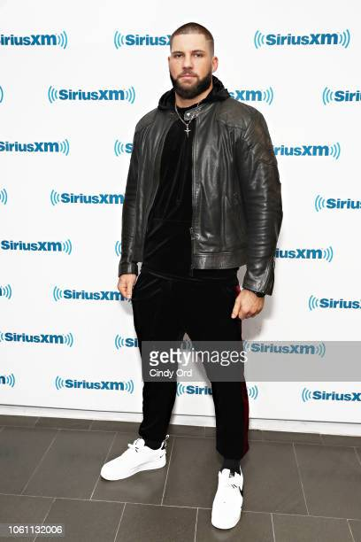 Boxer/ actor Florian Munteanu visits the SiriusXM Studios on November 13 2018 in New York City