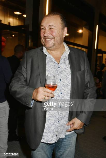 Boxer /actor Franck Tiozzo attends the 'Champion Spirit' Rive Gauche Launch Party at Beaupassage 14 Bd Raspail on October 16 2018 in Paris France