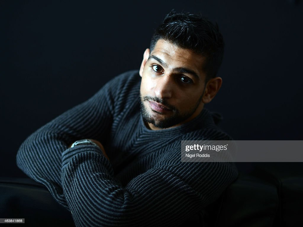 Amir Khan Media Day