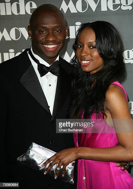 Boxer Antonio Tarver and wife Denise Boothe attend the 15th Annual Movieguide Faith Values gala at the Regent Beverly Wilshire Hotel on February 20...