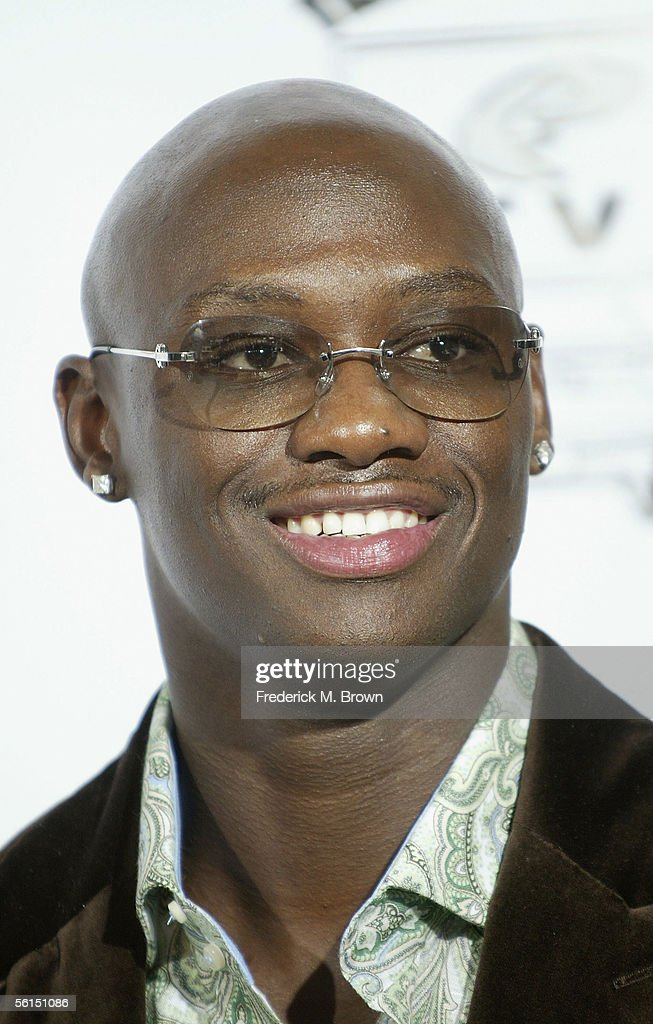 Boxer Antonio Tarver poses in the press room at the 3rd ...