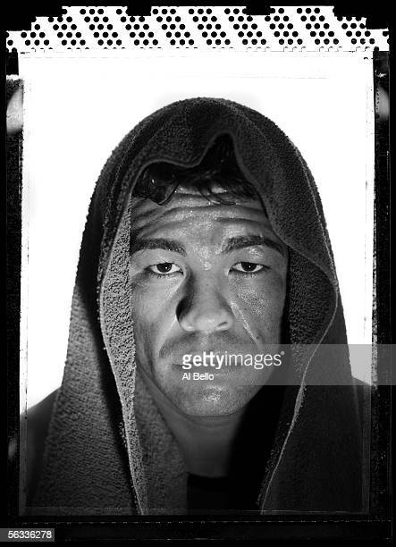Boxer, Arturo Gatti poses at Buddy McGirt's Gym on November 22, 2005 in Vero Beach, Florida. Gatti started his professional career in 1991, is...