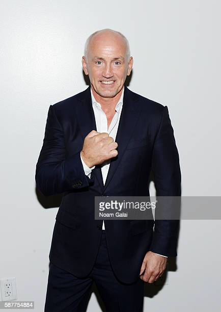Boxer Barry McGuigan attends Beyond Sport United 2016 at Barclays Center on August 9 2016 in Brooklyn New York