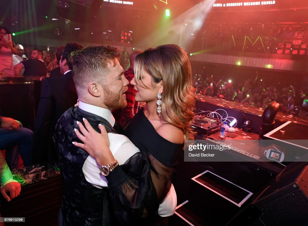 Canelo Alvarez Celebrates At JEWEL Nightclub Inside ARIA For Official After-Fight Party