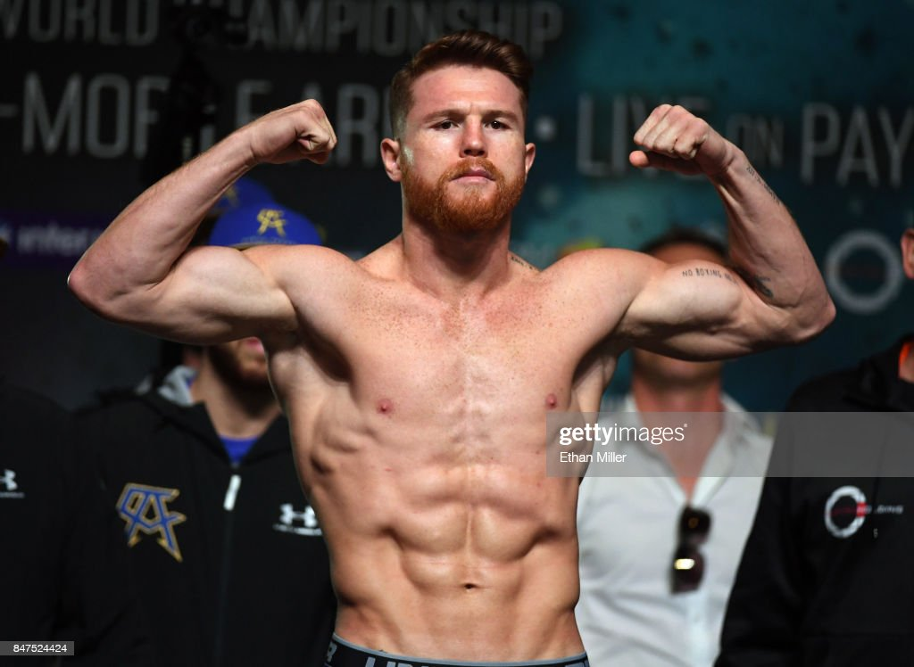 Gennady Golovkin v Canelo Alvarez - Weigh-in