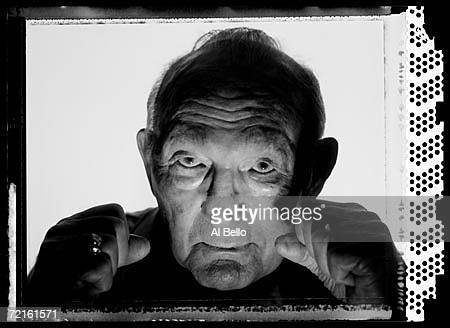 Boxer Carmen Basilio Former World Middleweight champion and two time Welterweight champion poses for a portrait on June 11 2005 at The International...