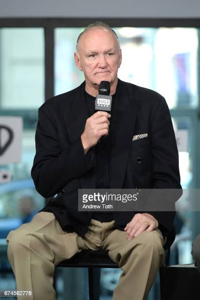 "Boxer Chuck Wepner attends the Build Series to discuss the film ""Chuck"" at Build Studio on April 28, 2017 in New York City."