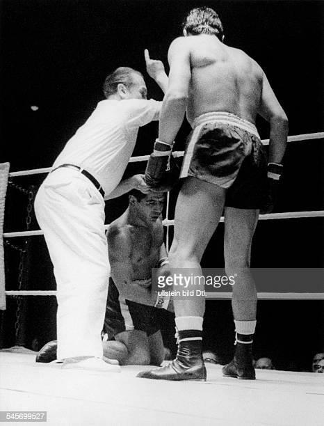 Boxer D im Kampf gegen Gustav Scholz 1959
