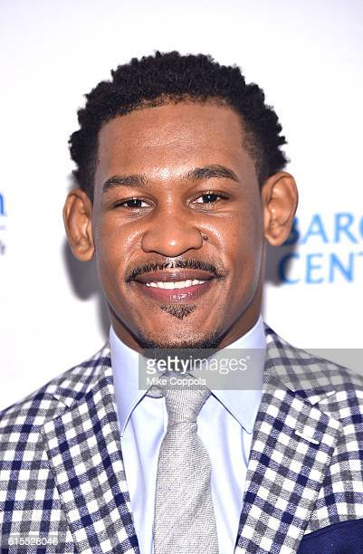 Boxer Danny Jacobs attends TJ Martell Foundation's 41st Annual Honors Gala at Gustavino's on October 18 2016 in New York City