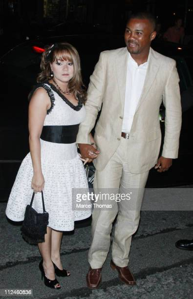 Boxer Felix Tito Trinidad attends a surprise 40th birthday party for Marc Anthony at the Bowery Hotel on September 14 2008 in New York City
