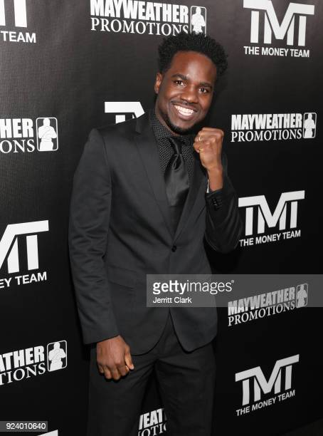 Boxer Fernando Guerrero attends Floyd Mayweather's 41st Birthday Party at The Reserve on February 24 2018 in Los Angeles California