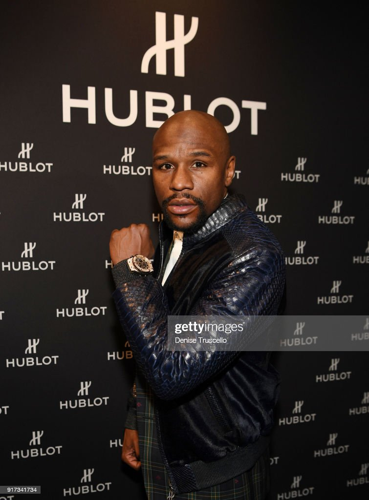 Hublot Reveals Limited Edition Watch with Floyd Mayweather