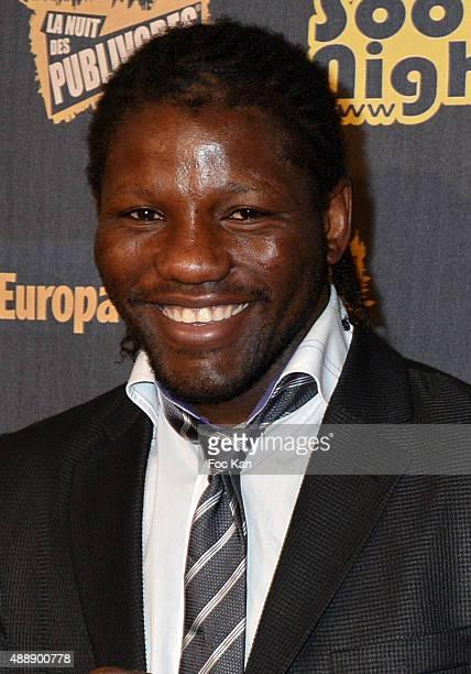 Boxer Hassan NÕdam attends the '35th Nuit des Publivores' at Grand Rex September 17 2015 in Paris France
