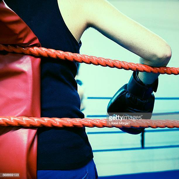 Boxer in the ring