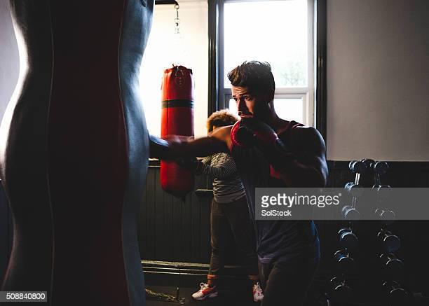 Boxershorts in Training