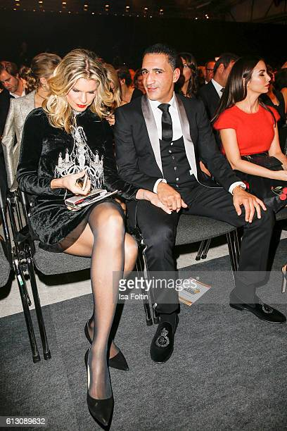 Boxer Ismail Oezen and his girlfriend Janina Otto attend the Tribute To Bambi at Station on October 6 2016 in Berlin Germany