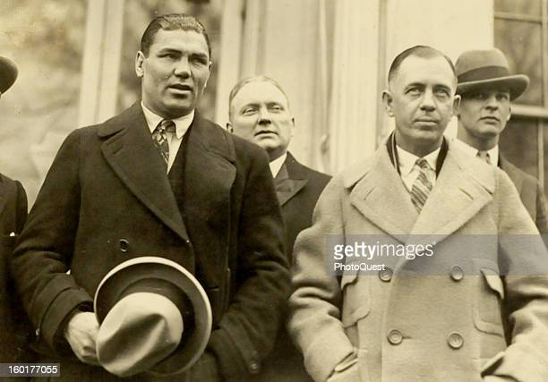 Boxer Jack Dempsey and his manager Jack Kearns February 22 1924