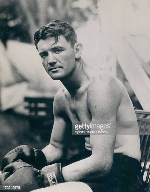 Boxer James Braddock poses for the camera
