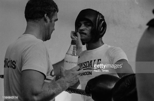 Boxer John Conteh training at the boxing gym, September 16th 1974.