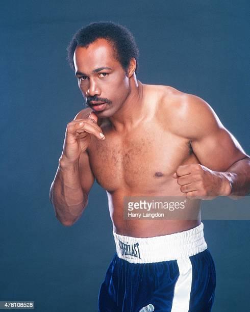 Boxer Ken Norton poses for a portrait in 1981 in Los Angeles California