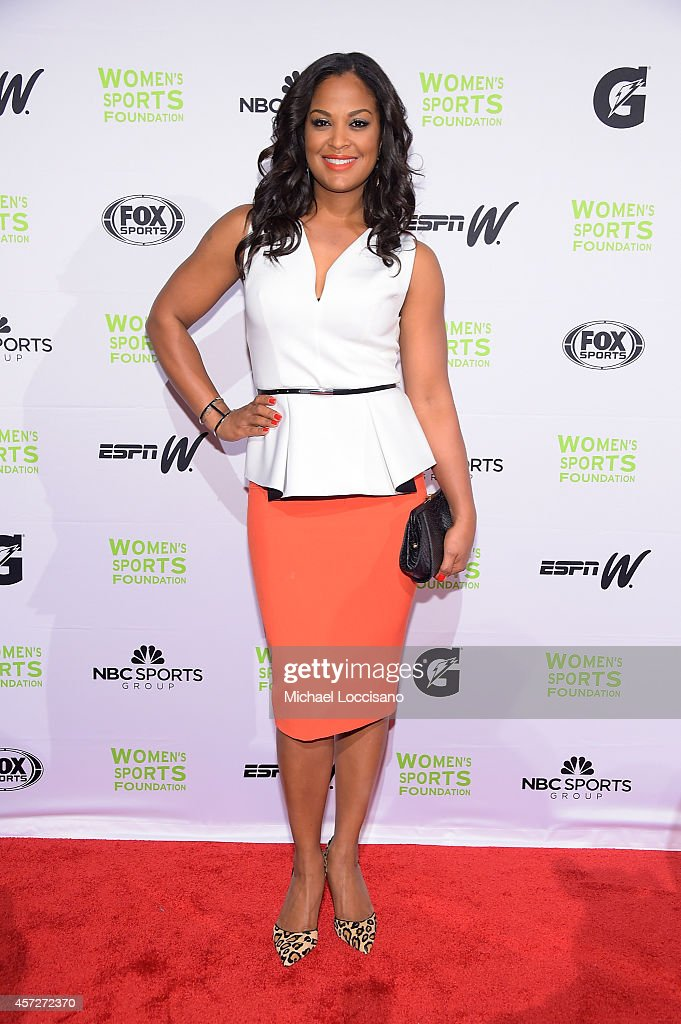 Boxer Laila Ali attends the Women's Sports Foundation's 35th Annual Salute to Women In Sports awards, a celebration and a fundraiser to ensure more girls and women have access to sports, at Cipriani Wall Street on October 15, 2014 in New York City.