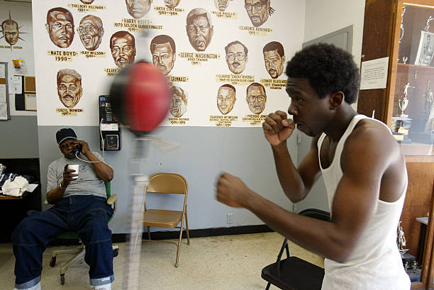 Urban Boxing Gym Struggles To Survive Photos and Images