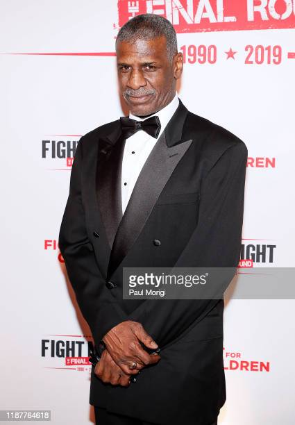Boxer Leon Spinks attends the 30th Annual Fight Night The Final Round at the Washington Hilton on November 14 2019 in Washington DC