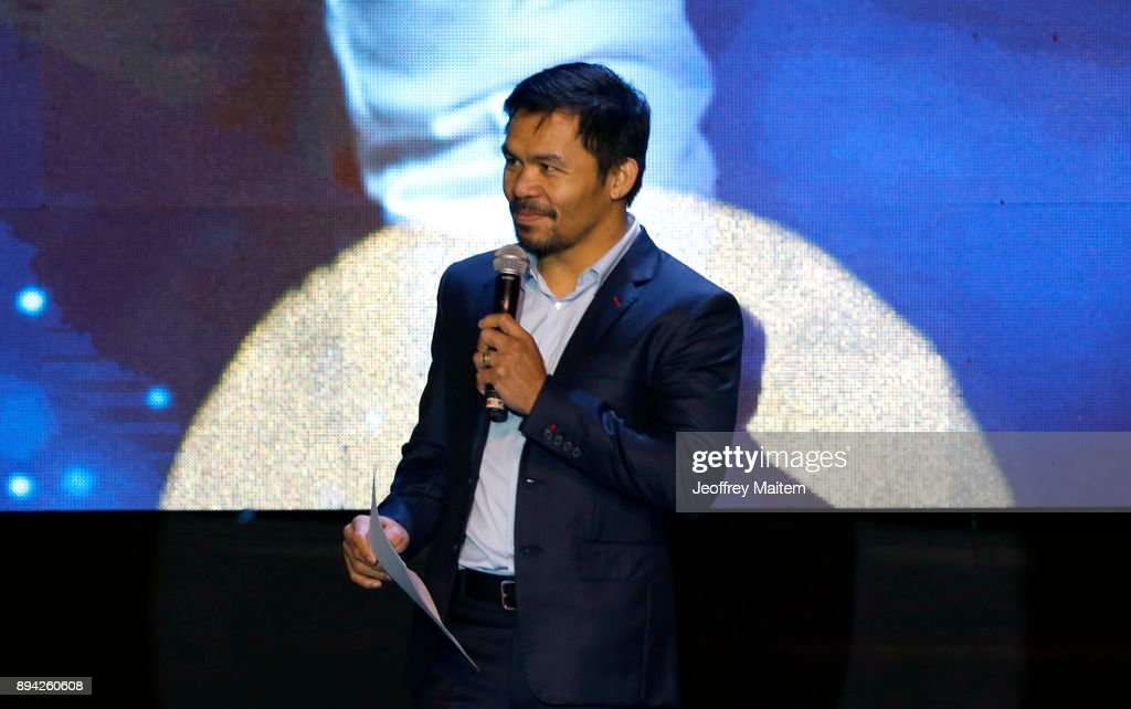 Manny Pacquiao Celebrates 39th Birthday