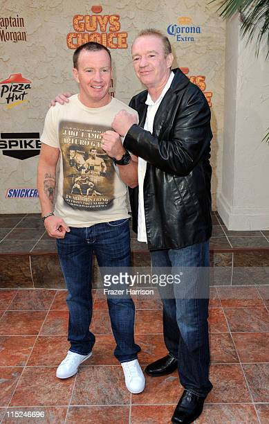 Boxer Micky Ward and boxing trainer Dicky Eklund arrive at Spike TV's 5th annual 2011 Guys Choice Awards at Sony Pictures Studios on June 4 2011 in...