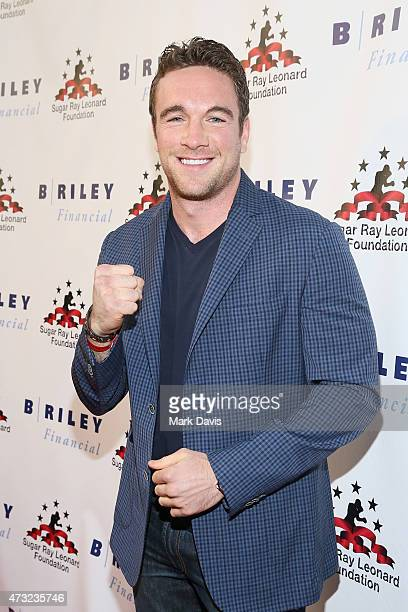 Boxer Mike Lee attends B Riley Co And Sugar Ray Leonard Foundation's 6th Annual Big Fighters Big Cause Charity Boxing Night at The Ray Dolby Ballroom...
