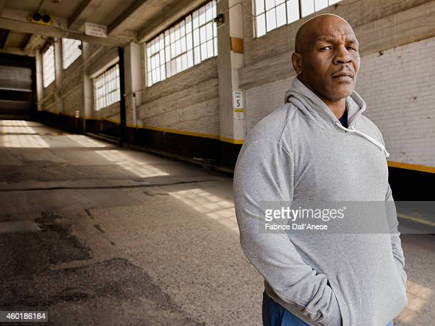 Boxer Mike Tyson is photographed for Vanity Fair Italy on April 23 2014 in New York City