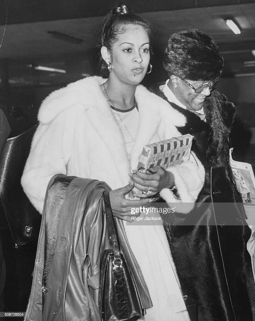 Veronica porsche pictures and photos getty images boxer muhammad ali and his girlfriend model veronica porsche pictured arriving at london airport march 9th thecheapjerseys Choice Image