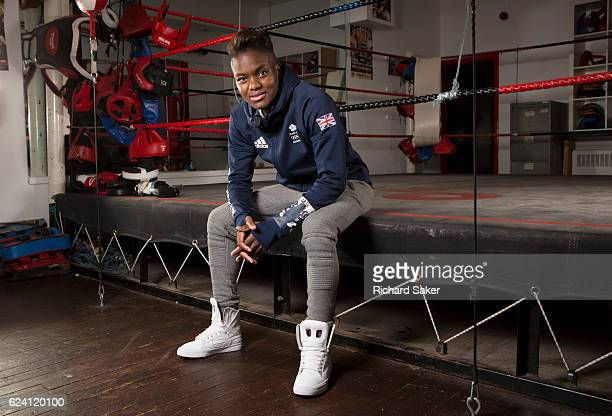 Boxer Nicola Adams is photographed for the Observer on September 6 2016 in London England