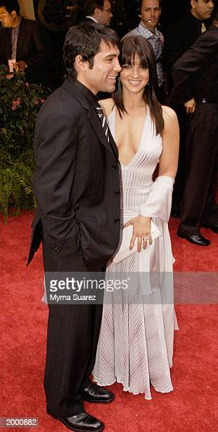 Boxer Oscar de la Hoya and his wife Millie Corretjer attend People En Espanol's 25 Most Beautiful Celebrity Gala at the Roseland Ballroom on May 14...