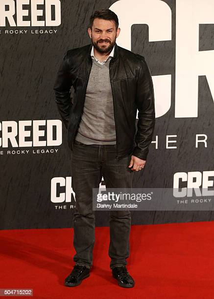 Boxer Paul Smith Jr attends the European Premiere of Creed on January 12 2016 in London England