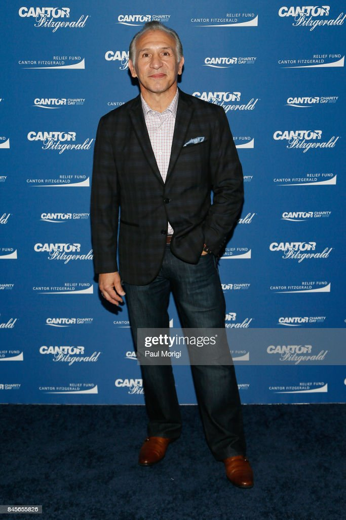 Boxer Raymond Mancini attends Annual Charity Day hosted by Cantor Fitzgerald, BGC and GFI at Cantor Fitzgerald on September 11, 2017 in New York City.