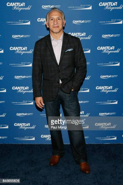 Boxer Raymond Mancini attends Annual Charity Day hosted by Cantor Fitzgerald BGC and GFI at Cantor Fitzgerald on September 11 2017 in New York City