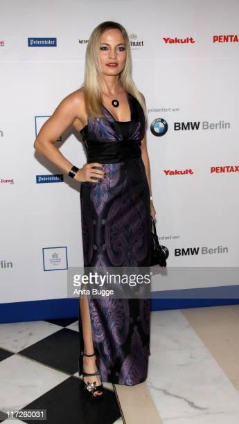 Boxer Regina Halmich attends the 'Felix Burda Award Gala 2009' at Hotel Adlon Kempinski on March 29, 2009 in Berlin, Germany.