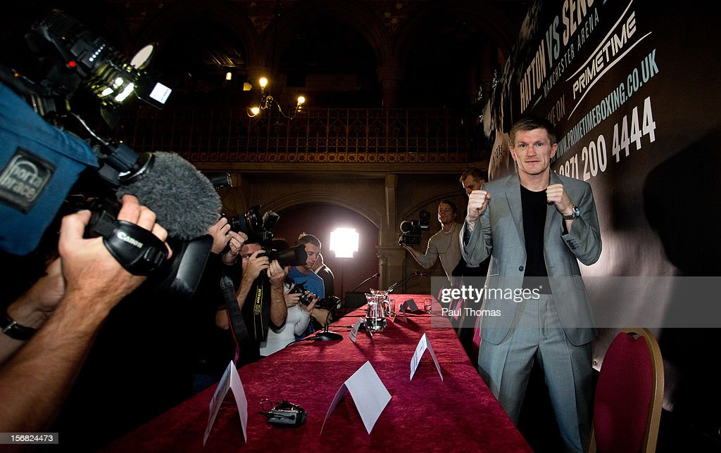 Ricky Hatton & Vyacheslav Senchenko Press Conference