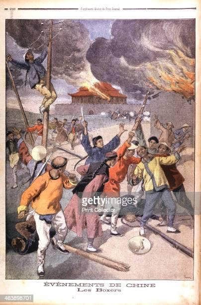 Boxer Rising in China From Le Petit Journal Paris June 1900