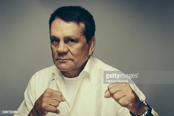 Boxer Roberto Duran is photographed for The Hollywood Reporter on May 14 2016 in Cannes France