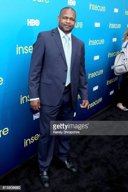 "Boxer Roy Jones Jr attends a block party celebrating HBO's new season of ""Insecure"" on July 15, 2017 in Inglewood, California."