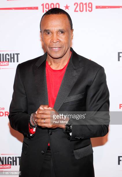 Boxer Sugar Ray Leonard attends the 30th Annual Fight Night: The Final Round at the Washington Hilton on November 14, 2019 in Washington, DC.