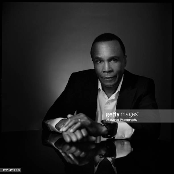 Boxer Sugar Ray Leonard poses for a spec shoot on February 24, 2020 in Los Angeles, California.