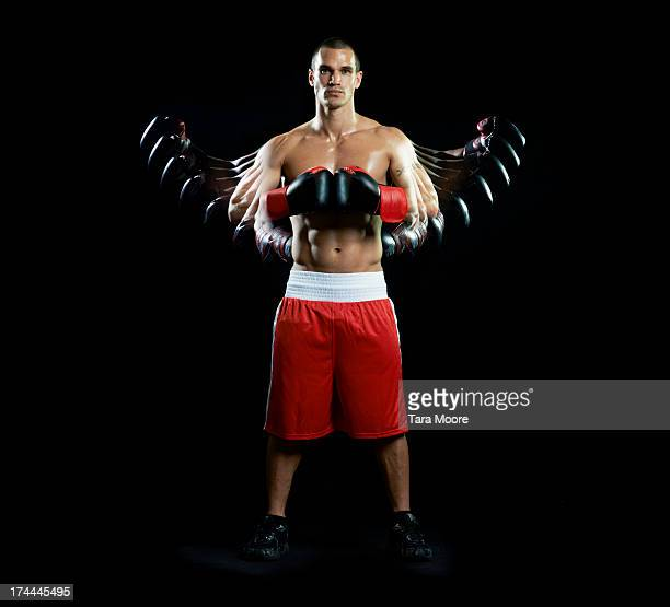 boxer with multiple strobe