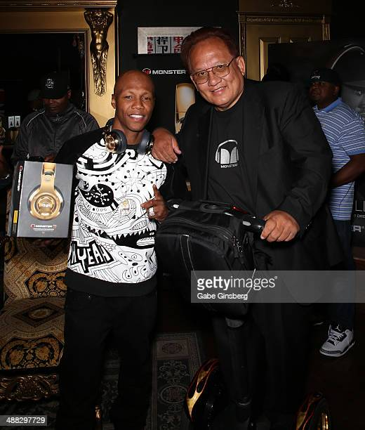 e7b13a6e809c77 Boxer Zabdiel  Zab  Judah and Monster Inc Founder and CEO Noel Lee attend  Meek
