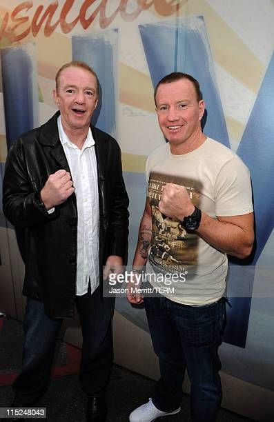 Boxers Dicky Eklund and Micky Ward arrive at Spike TV's 5th annual 2011 Guys Choice Awards at Sony Pictures Studios on June 4 2011 in Culver City...