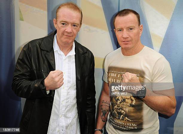 Boxers Dicky Eklund and Micky Ward arrives at Spike TV's 5th annual 2011 Guys Choice Awards at Sony Pictures Studios on June 4 2011 in Culver City...
