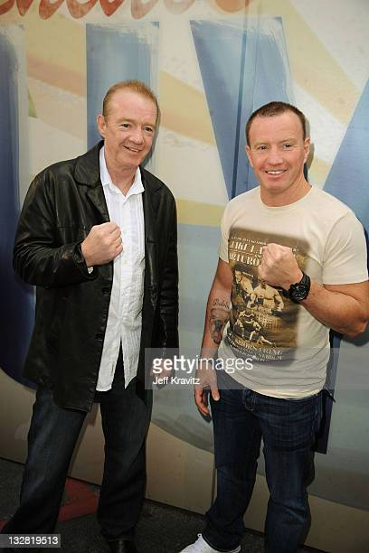 """Boxers Dicky Eklund and Micky Ward arrives at Spike TV's 5th annual 2011 """"Guys Choice"""" Awards at Sony Pictures Studios on June 4, 2011 in Culver..."""