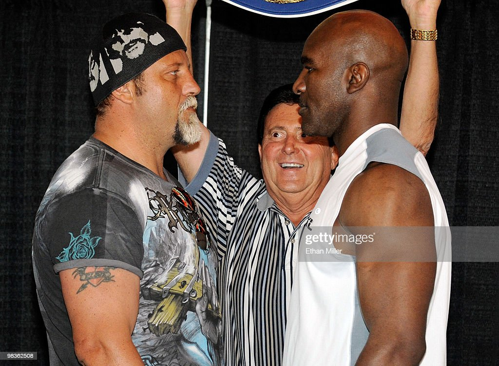 Evander Holyfield v Francois Botha Weigh-In